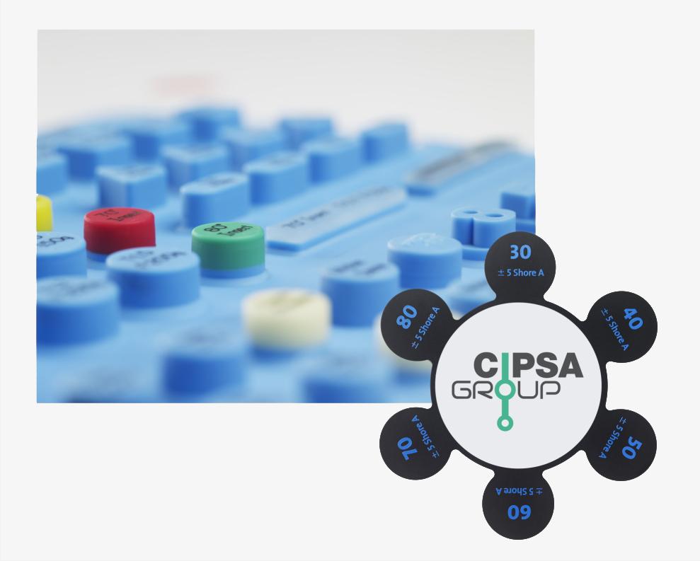 Fabricacion teclados silicona alta calidad de materiales GRUPO CIPSA
