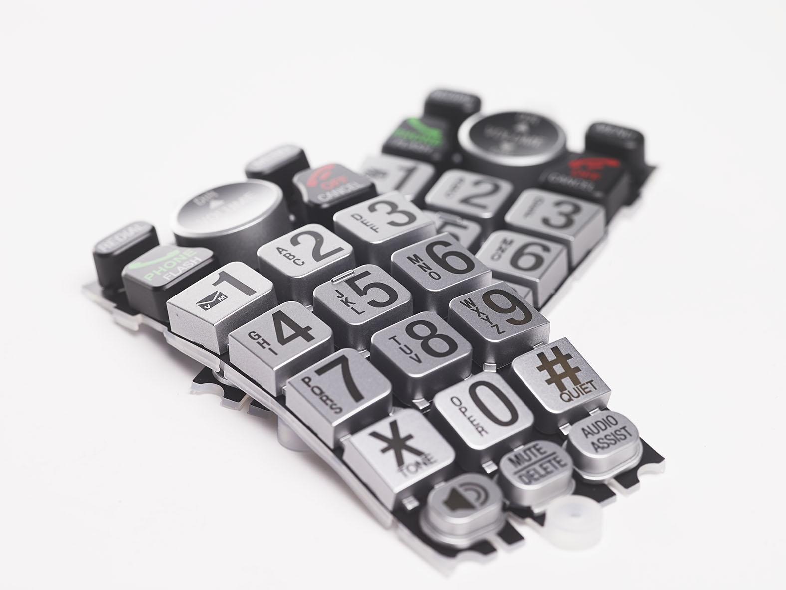 Fabricacion teclados silicona alta calidad, GRUPO CIPSA
